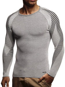Men's Pullover Slim Round Neck  Sweater