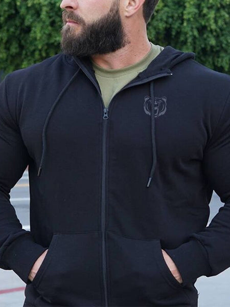 Mens Sports And Leisure Fitness Jacket