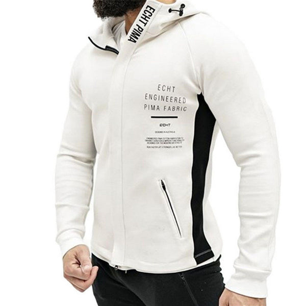 Casual Sports Hooded Jacket