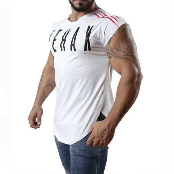 Casual Short-Sleeved Cotton Quick-Drying  T-Shirt