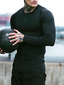 Mens Sports Fitness Quick-Drying  T-Shirt