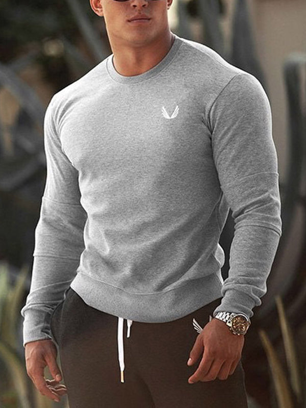 Mens Sports Fitness Plain  Sweater