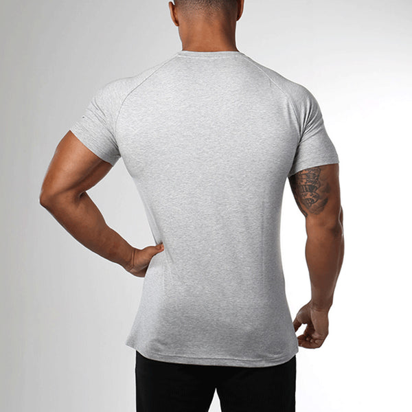 Casual Sports Letter Print Fitness T-Shirt
