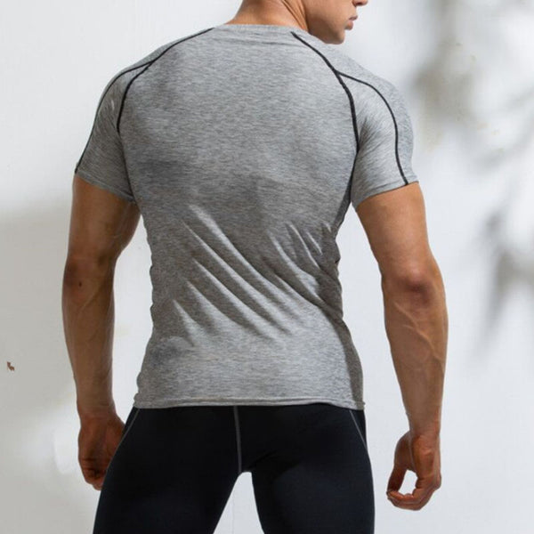 Training quick-dry short sleeve  T-shirt