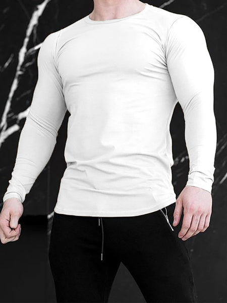 Mens Quick-Drying Breathable Sports T-Shirt