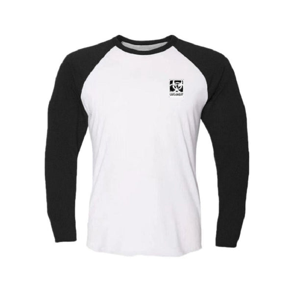 Men's Sports Loose Round Neck T-Shirt