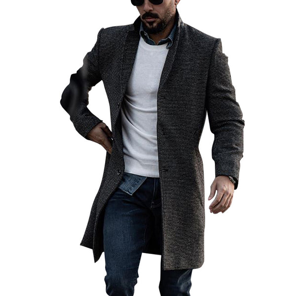 Men's Fashion Casual Stand Collar  Coat