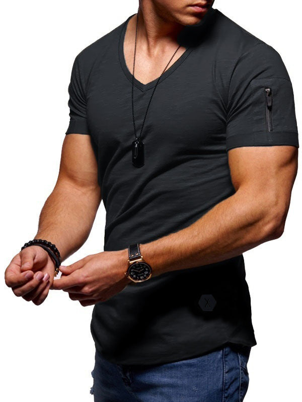 Fashion Mens Short Sleeve T-Shirt