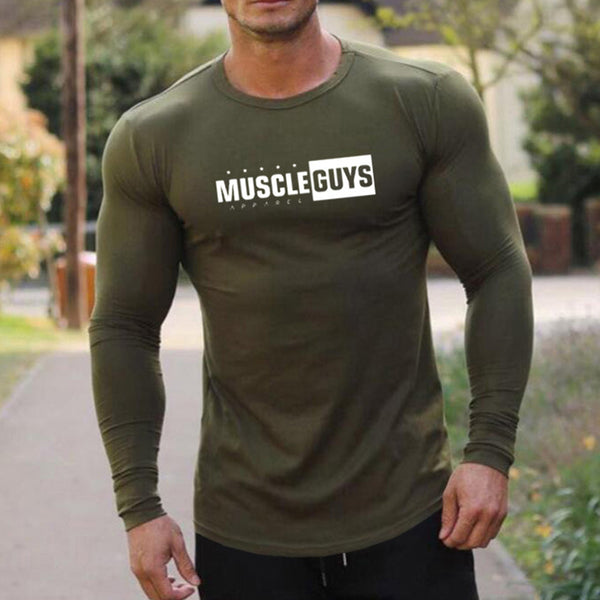 Casual Slim Sports Long-Sleeved T-Shirt