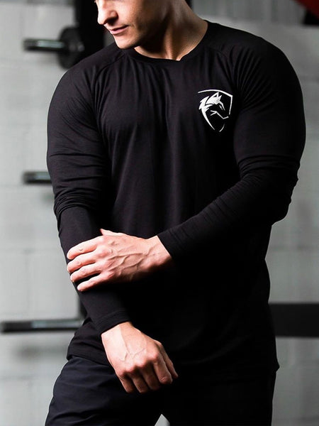 Sports Fitness Breathable Training  T-Shirt