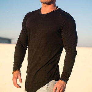 Mens Sports And Leisure Round T-Shirt