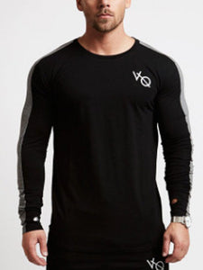 MENS LEISURE FITNESS SPORTS  T-SHIRT