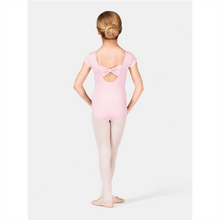 Load image into Gallery viewer, Motionwear 2154 Bow Back Cap Sleeve Bodysuit
