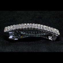 Load image into Gallery viewer, KBG 3 Row Rhinestone Barrette