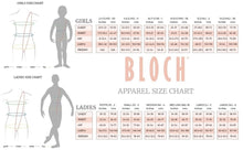 Load image into Gallery viewer, Bloch CZ8106 Tazanna 3/4 Sleeve Mesh Top