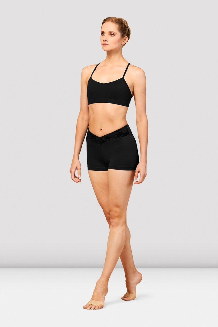 Bloch FT5224 Bordeaux Racerback Bra Top