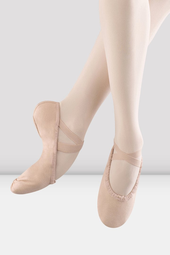 Bloch SO277G/L Pump Canvas Ballet Shoe