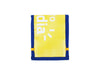 notebook A7 *porto exclusive* blue & yellow