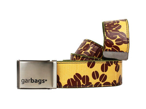 belt coffee packages beans yellow - Garbags
