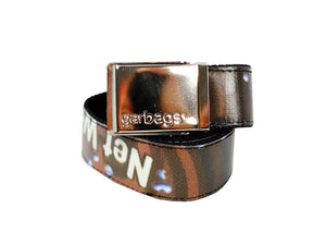 belt publicity banner brown & yellow - Garbags
