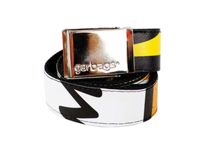 belt publicity banner yellow & black - Garbags