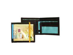document holder chocolate package yellow & black - Garbags