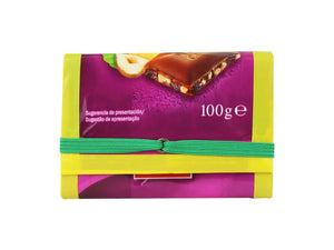 elastic wallet milk & choc packages purple - Garbags