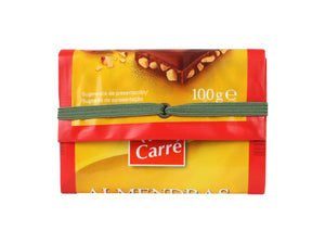 elastic wallet milk & choc packages yellow - Garbags