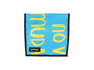 extraflap XS publicity banner blue & yellow - Garbags