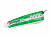 pencil case toothpaste tube green & white