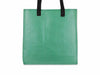 shopping bag publicity banner green & red chips