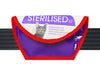 sunglasses case cat food package purple