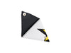 triangle purse publicity banner white & black