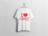 t-shirt I love garbags lisbon