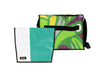 messenger bag XL publicity banner green & white