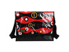 messenger bag XL pub banner & coffee red
