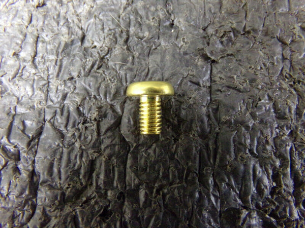 84pk, LINDSTROM M5 X 8,  85-BRASS SLOTTED MACHINE SCREW (183778648563-NBT04)