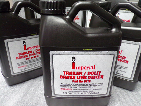 (8) Imperial Brake Line De-icer, 32 oz. Bottle (183919930013-F33)
