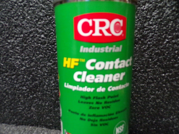 CRC HF Contact Cleaner 11 oz Aerosol Can Clear -03125 (184025331378-F39)