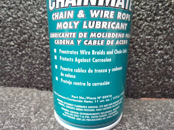 LPS 02416 Chain and Wire Rope Lubricant, Aerosol, 11 Oz. (184025435784-F39)