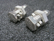 (2) SK-250 ILSCO 250 MCM SPLIT BOLT CONNECTOR MADE IN THE USA  (184187192436-I33)