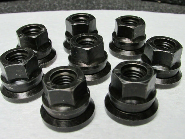 (8) LUG NUT RH M12X 1.75 BLACK FINISH Part #65731 (184256160825-BT34)