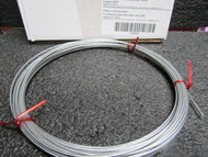 DAYTON Cable Galvanized Steel 50 ft. Length 1 x 19 Working Load Limit: 100 lb (184307921312-BT08