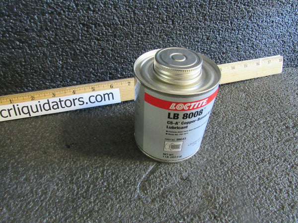 LOCTITE 233317 Anti Seize Compound, 16 oz, Brush Top, LB 8008. (184396508289-BT09)