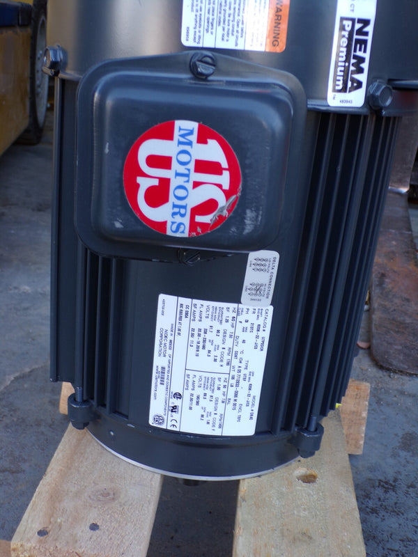 US MOTORS 7 1/2 HP, General Purpose Motor, 3-Phase, 1765 Nameplate RPM, 208-230/460 Voltage, 213TC Frame (SQ35247002D46)