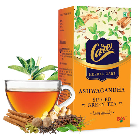 Ashwagandha Spiced Green Tea