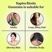 Load image into Gallery viewer, Kapiva Biotin With Aloe Vera Gummies ( PACK OF 2)
