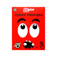 Load image into Gallery viewer, Choco Phool Makhana - Double Chocolate Coated with Premium Belgian Milk Chocolate - Pack of 5X 30Gms