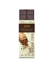 Load image into Gallery viewer, Zevic Stevia Chocolate with Roasted Coffee Beans 40 gm