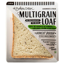 Load image into Gallery viewer, Handmade Multigrain Loaf 100% Wholewheat (Pack of 3, No Preservatives, Honest Dough) [Available in Bangalore, Delhi, Mumbai]